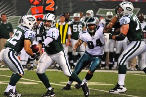 Football: Jets-v-Eagles, Sep 2009 - 07