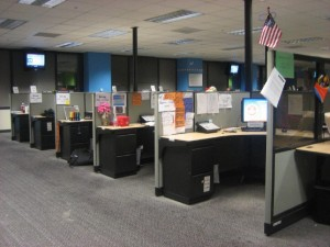 cubicle row 2