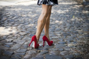High Heels Cobble Stones